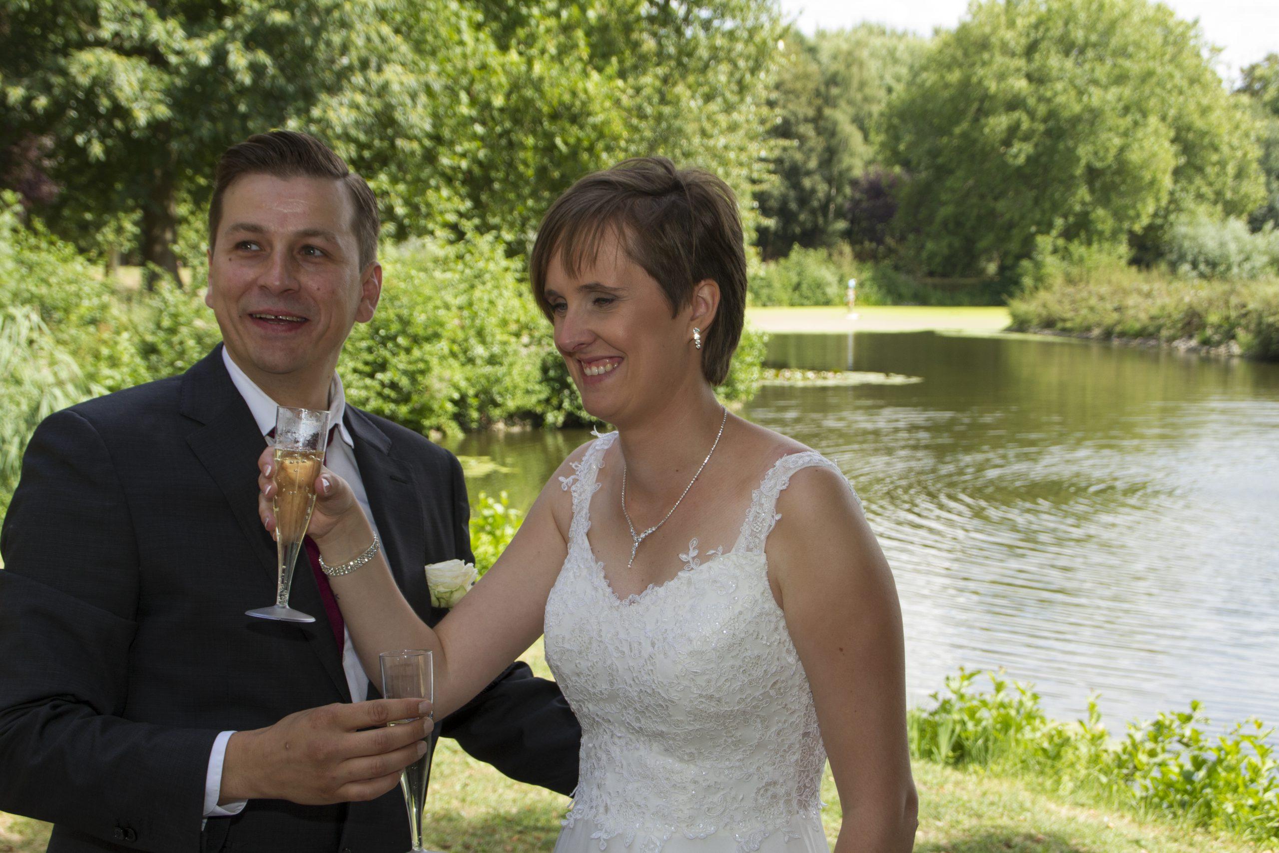 foto deinze huwelijk